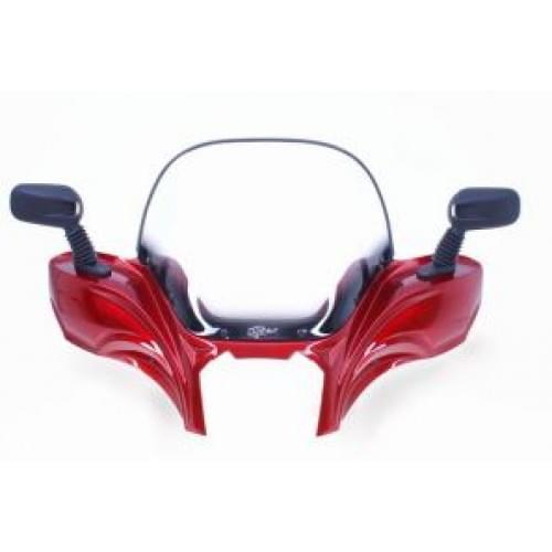 Ветровое стекло Vip-air Sunset Red ( Канада) Polaris Sportsman XP550/850