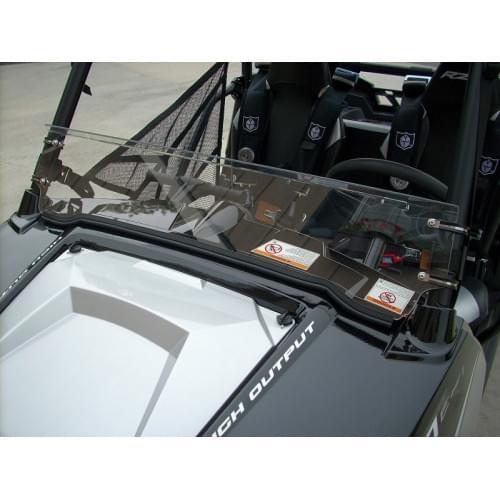 Стекло лобовое 1/2 для Polaris RZR 570/800/900